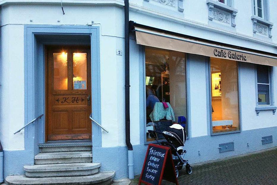 Caf� Galerie (geschlossen) - Freiburg