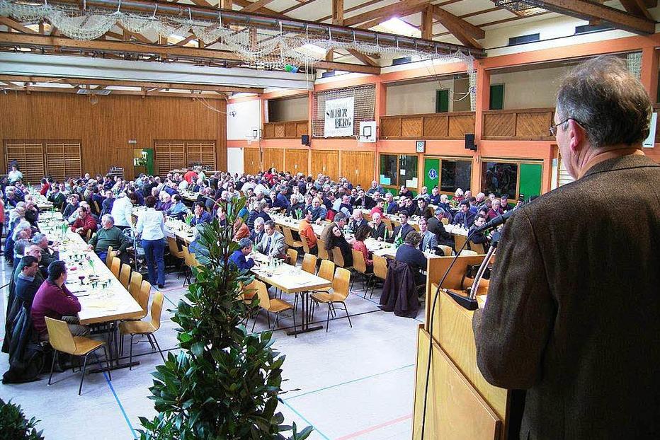 Silberberghalle - Bahlingen