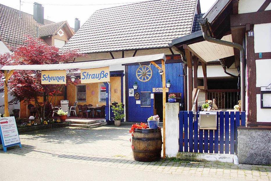 Scheunenstrauße Hofmann (Kürzell) - Meißenheim