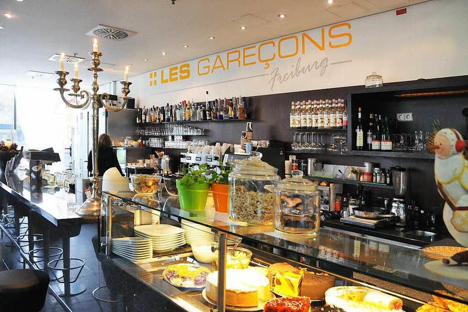 Espressobar Les Garecons (im Hauptbahnhof) - Freiburg