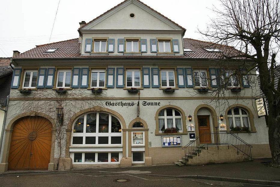 Gasthaus Sonne (Wasenweiler) - Ihringen