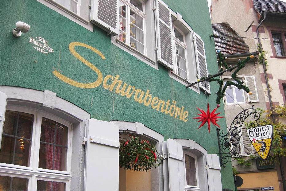 Gasthaus Schwabent�rle - Freiburg