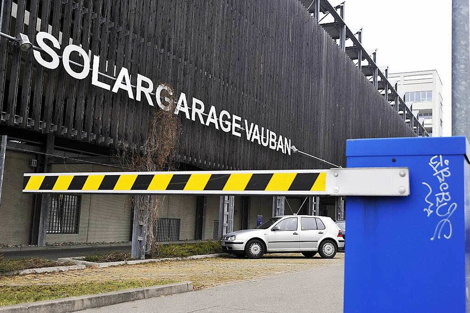 Solargarage im Vauban - Freiburg