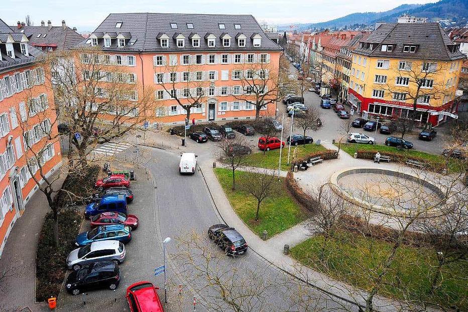 Stadtteil Br�hl-Beurbarung - Freiburg