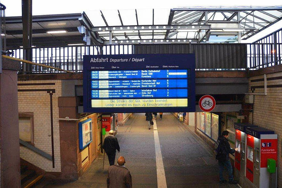 Bahnhof - Offenburg