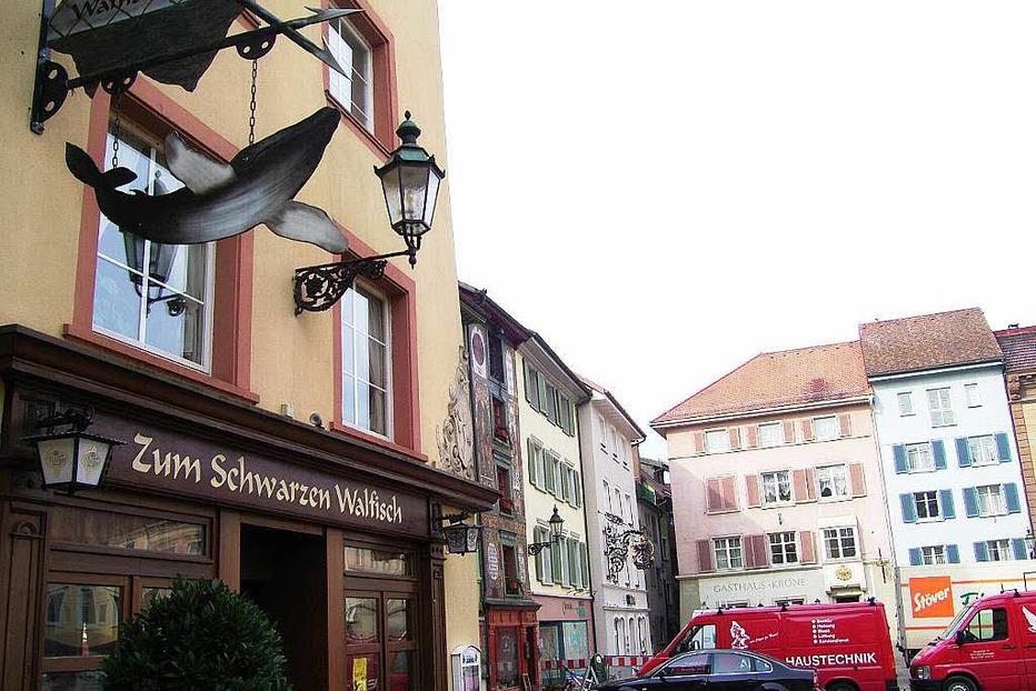 Gaststätte Schwarzer Walfisch - Bad Säckingen