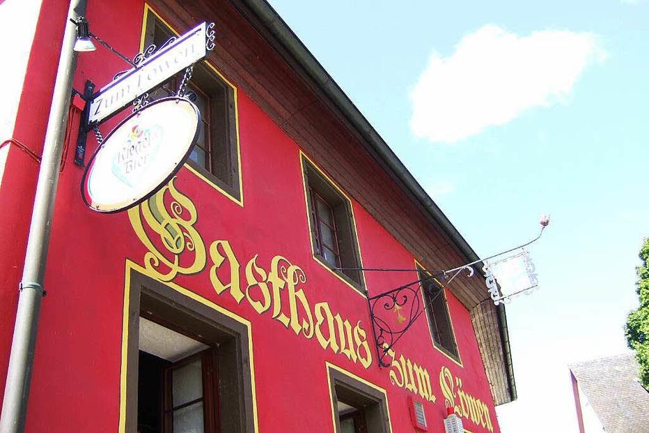 Gasthaus Zum L�wen Wettelbrunn - Staufen