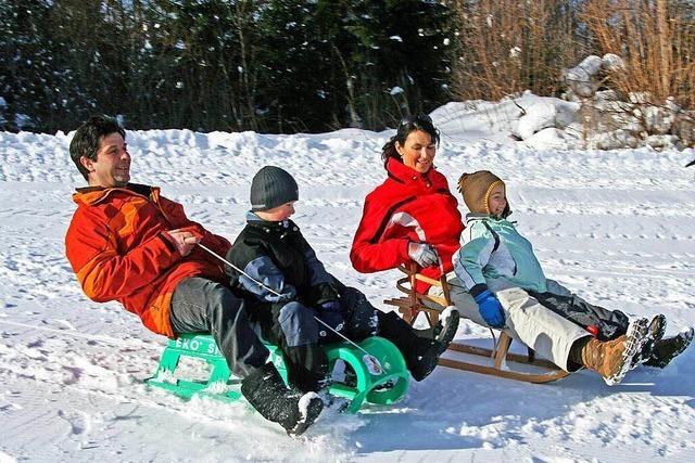 Skilift und Rodelhang Im Lehen