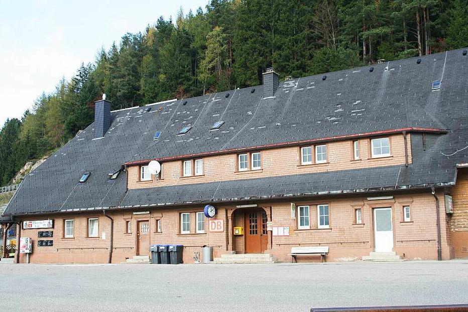 Bahnhof Seebrugg - Schluchsee