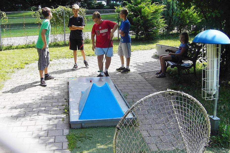 Minigolfplatz am B�rgerpark - Offenburg
