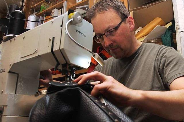 Einer, der vom Leder zieht: So arbeitet ein Sattler