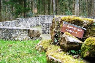 Römischer Gutshof (Trimm-Dich-Pfad Nollinger Wald)