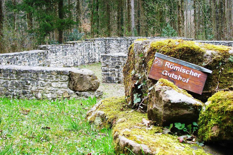 Römischer Gutshof (Trimm-Dich-Pfad Nollinger Wald) - Rheinfelden