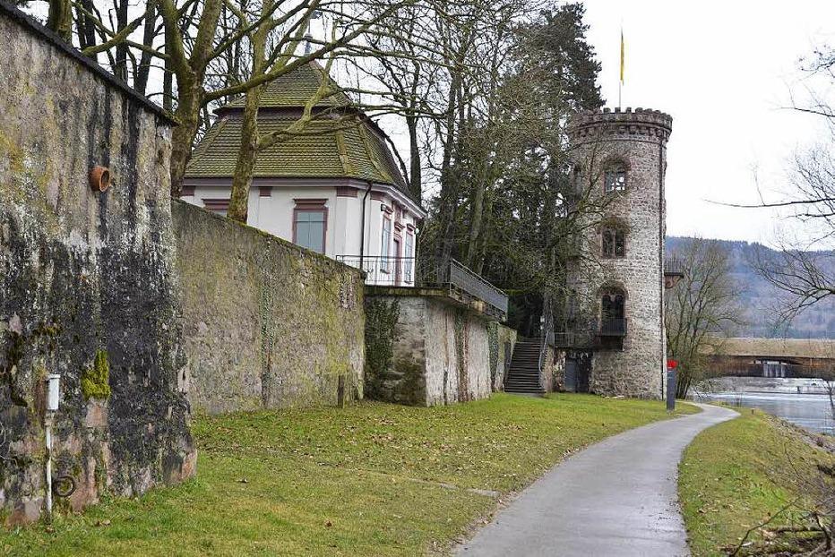Diebsturm im Schlosspark - Bad Säckingen
