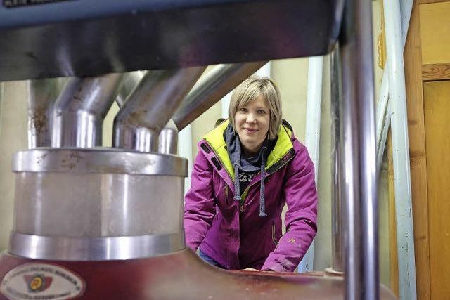 Müllerin hält die Tantenmühle am Laufen