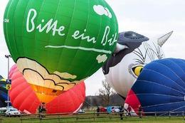 Fotos: Das Ballonfestival im Europa-Park in Rust von oben