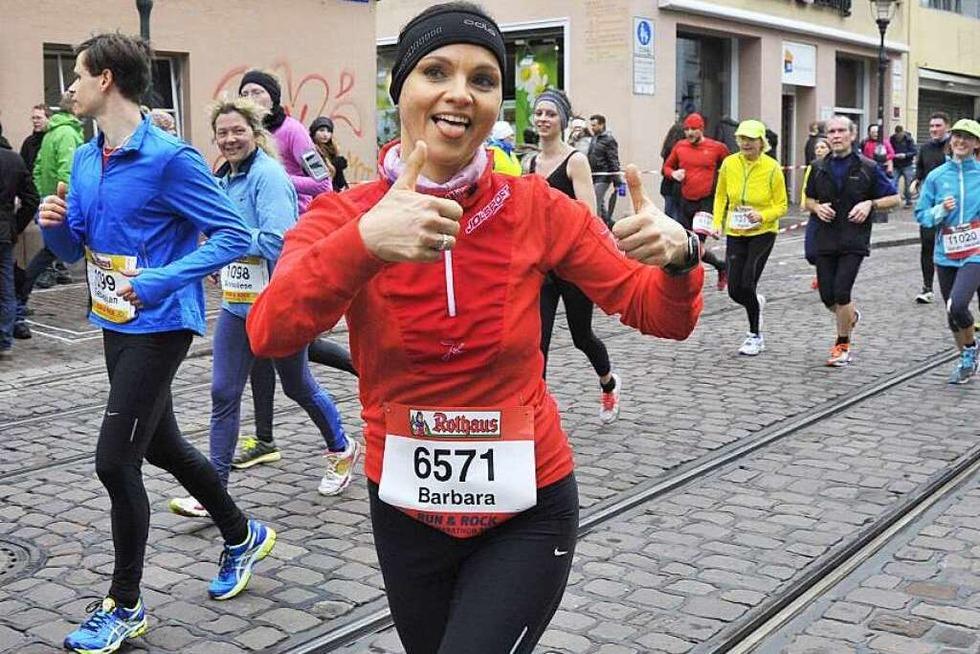 Läufer-Perspektive: Wie war's beim Freiburg-Marathon? - Badische Zeitung TICKET