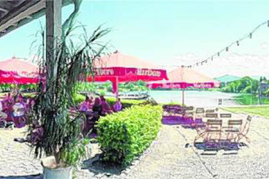 Caf�-Restaurant Lago am Seepark - Freiburg