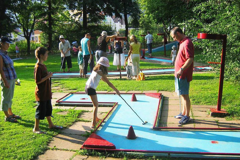 Minigolfanlage am Stadtrainsee - Waldkirch