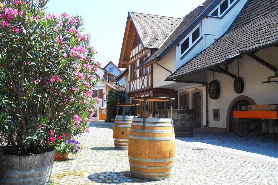 Hunne-Strau�e (Weingut Hunn) - Gottenheim