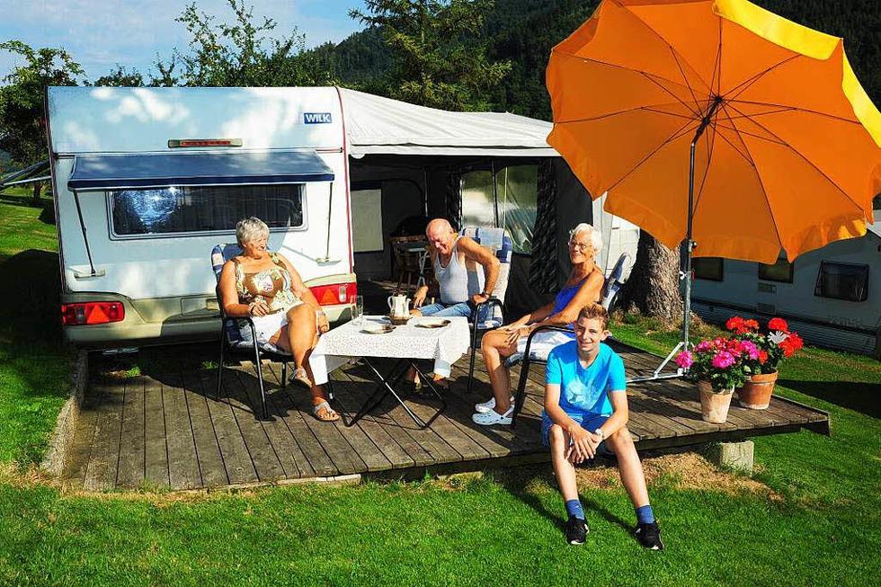 Campingplatz Schwarzwaldhorn - Simonswald