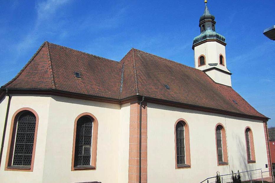 Katholische Kirche Sankt Sebastian Bombach - Kenzingen