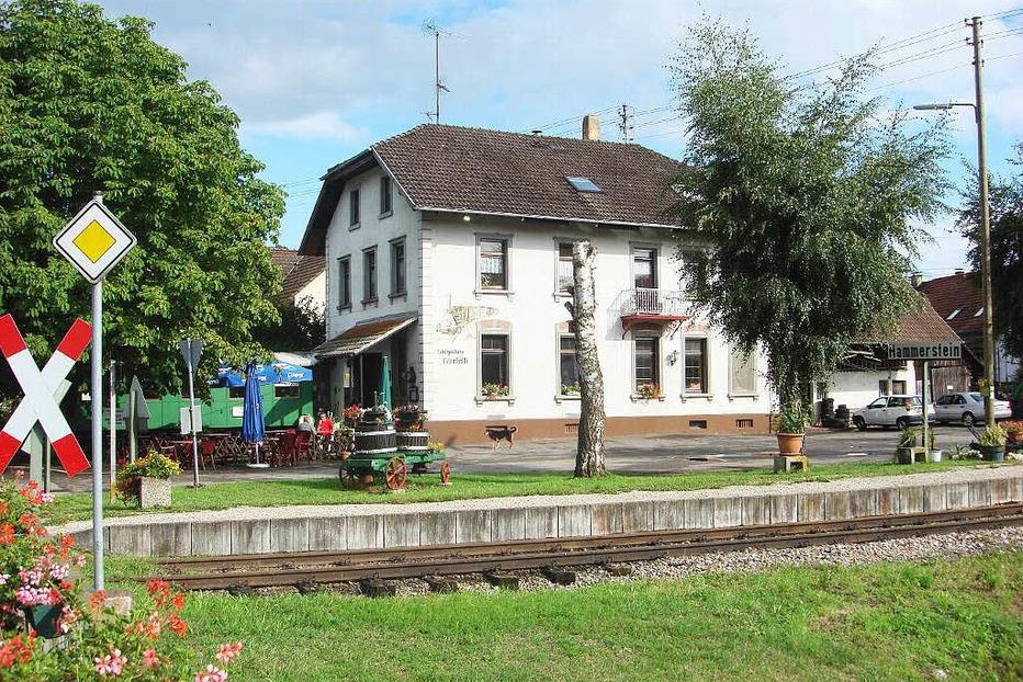 Gasthaus Bahnhöfli Hammerstein - Kandern
