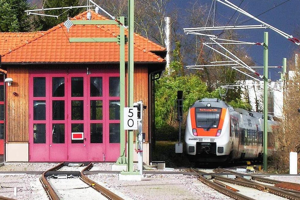 Bahnhof - Staufen