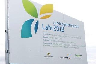 Eine Sitzbank in der Lahrer Innenstadt soll für das Projekt werben