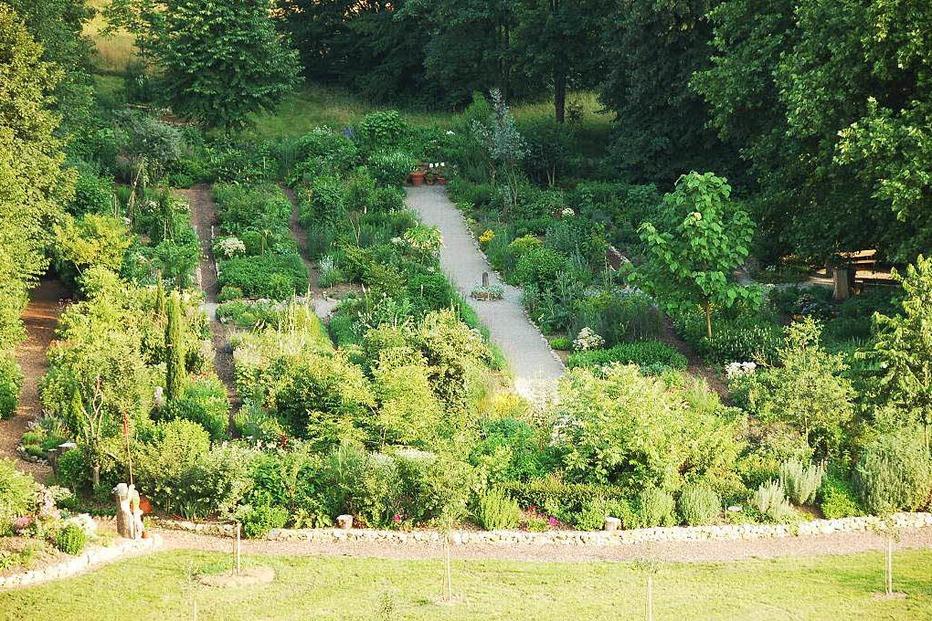 Duft- und Kräutergarten im Kurpark - Bad Krozingen