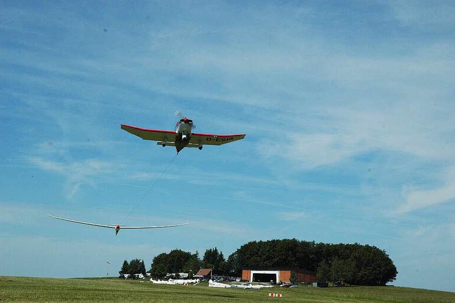 Segelflugplatz H�tten - Rickenbach