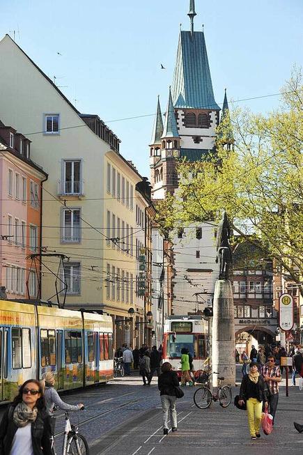 Kaiser-Joseph-Straße - Freiburg