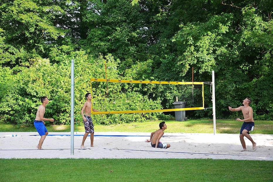 Beachvolleyballplatz am Tutti Kiesi - Rheinfelden