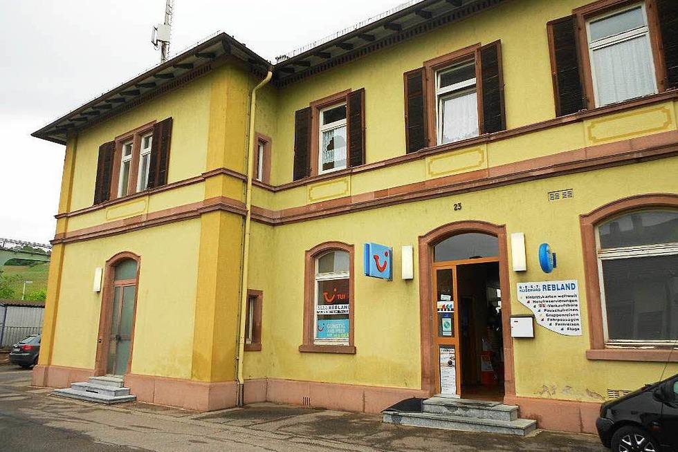 Bahnhof Efringen-Kirchen - Efringen-Kirchen