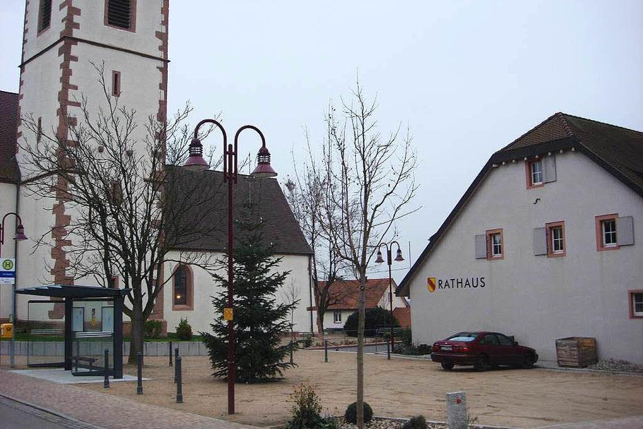 Rathausplatz - Fischingen