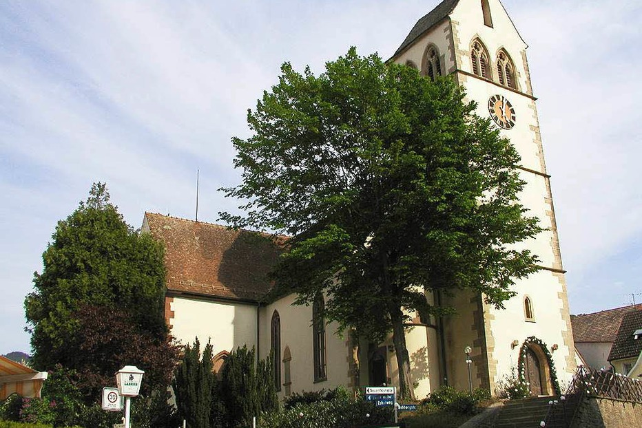 Evangelische Kirche Muggardt (Britzingen) - Müllheim