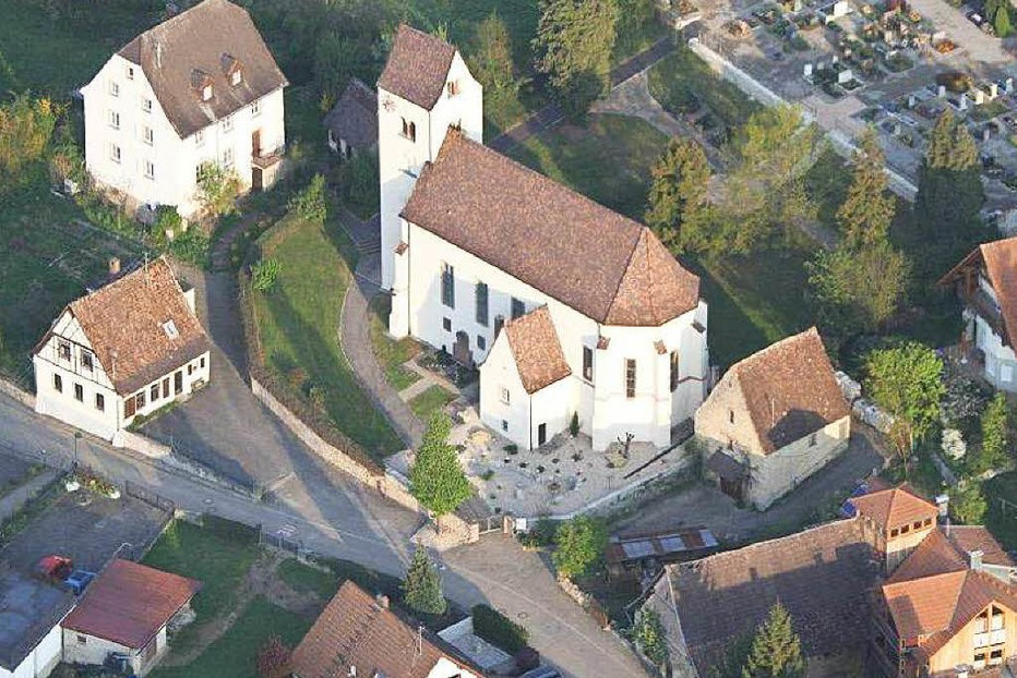 Evang. Kirche Obereggenen - Schliengen