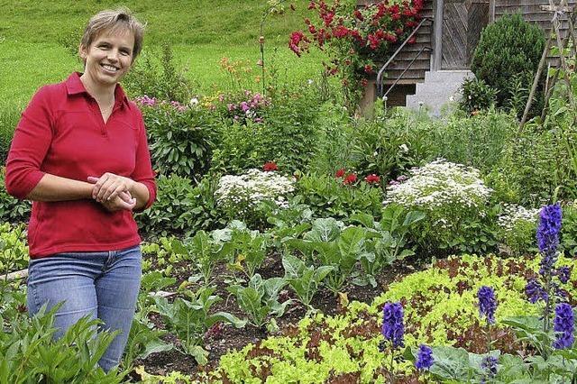 Der Garten als Vorratskammer und Augenschmaus