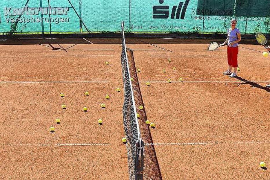 Tennisanlage TSV Alemannia Z�hringen - Freiburg