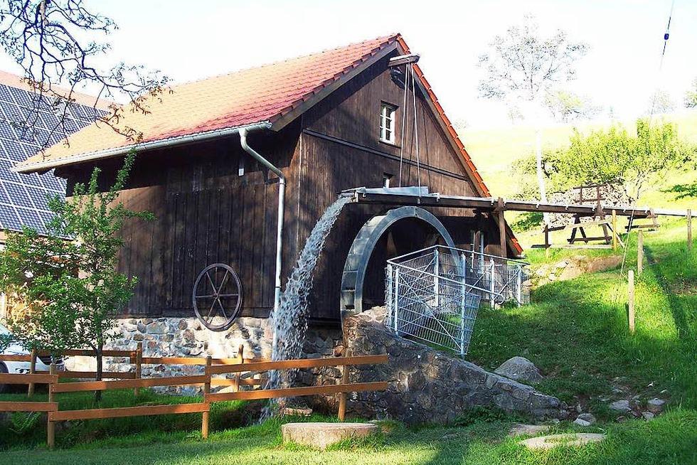 Altenvogtshofmühle (Vörlinsbach) - Oberried