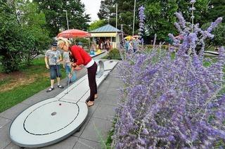 Minigolf im Seepark
