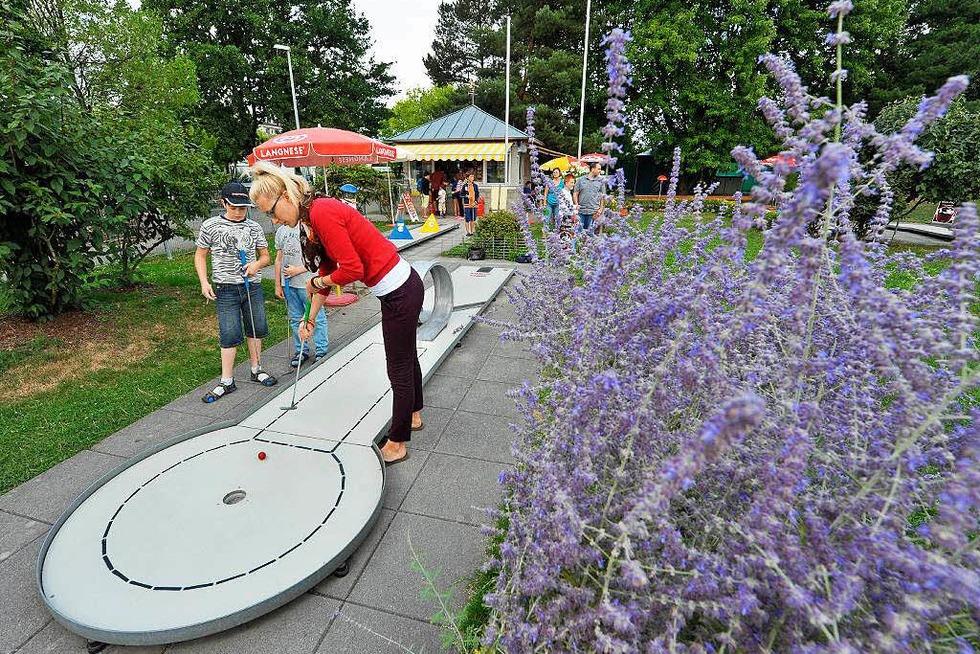 Minigolf im Seepark - Freiburg