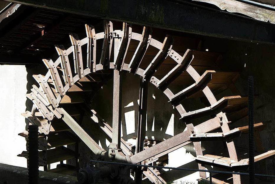 Historische Ölmühle - Simonswald