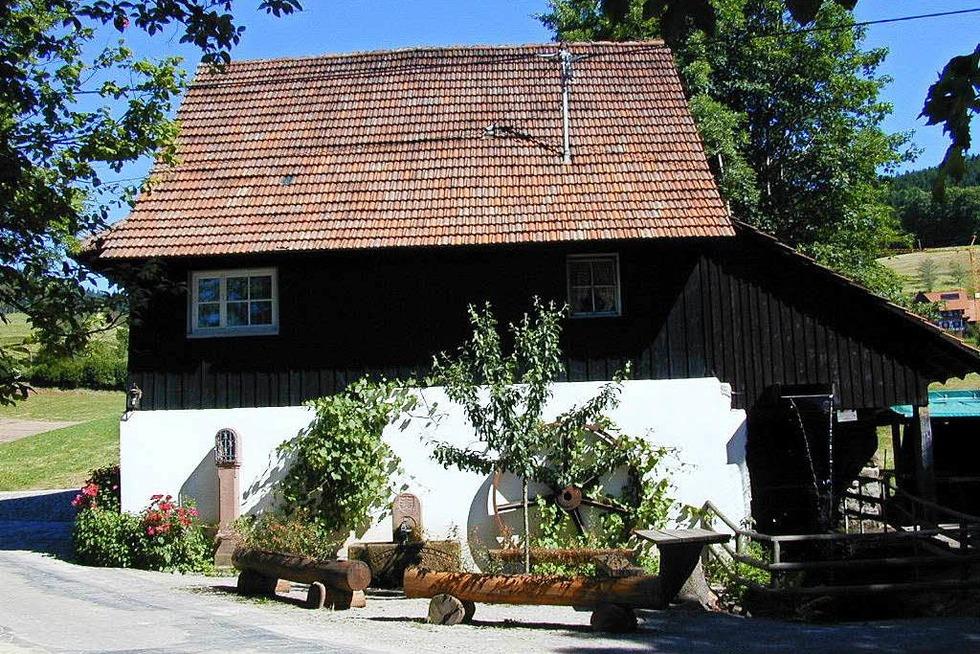 Vollmers Mühle (Grimmerswaldtal) - Seebach