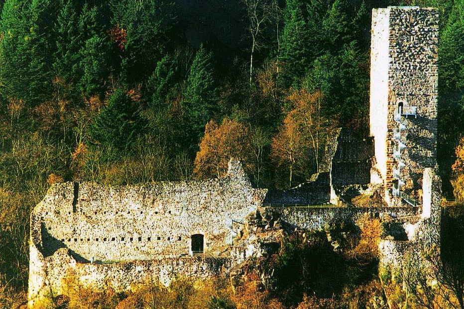 Burgruine Wieladingen (Harpolinger Schloss) - Rickenbach