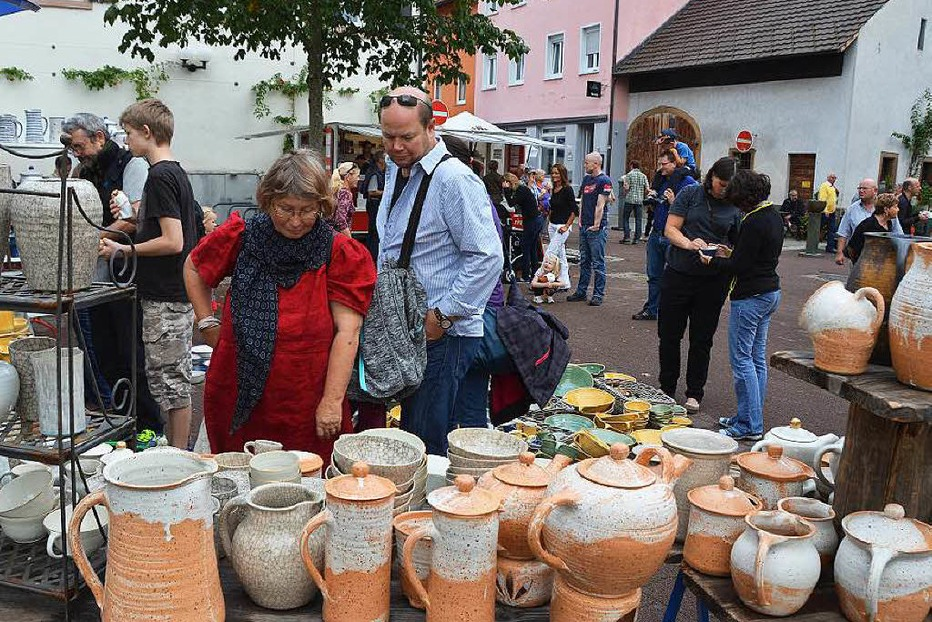 Töpfermarkt in Kandern - Badische Zeitung TICKET