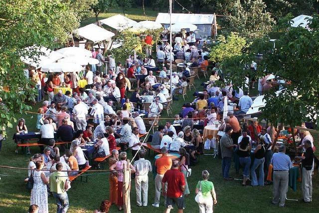 Wein im Garten in Efringen-Kirchen