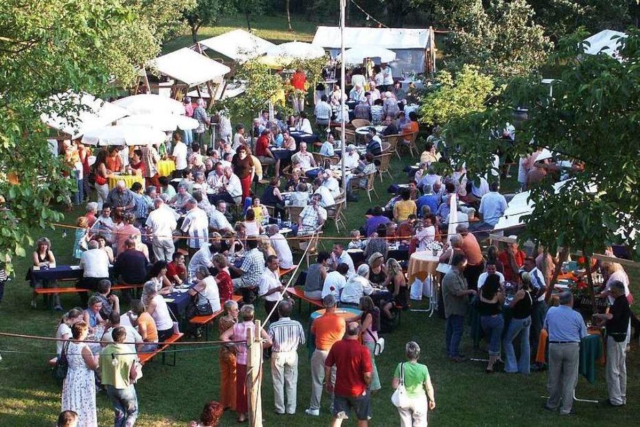Wein im Garten in Efringen-Kirchen - Badische Zeitung TICKET