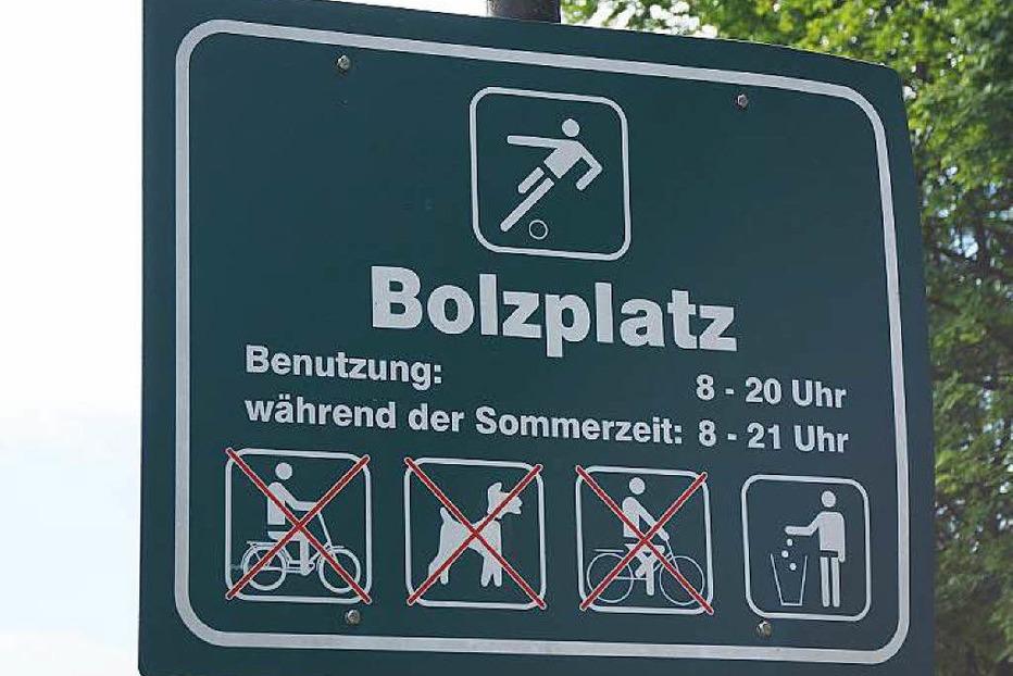 Bolzplatz - Umkirch