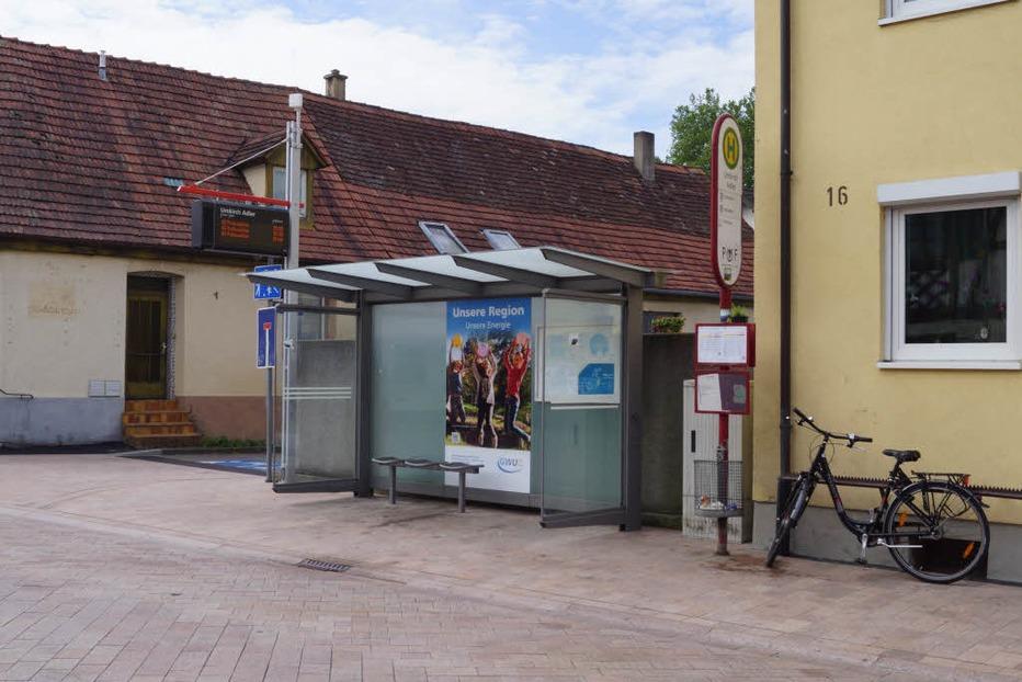 Bushaltestelle Adler - Umkirch